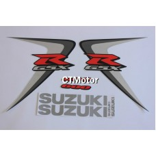 CTMotor High Quality Decal Stickers Set For 2006-2007 SUZUKI GSXR 600 750 K6 FAIRING DJF