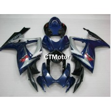 CTMotor 2006-2007 SUZUKI GSXR 600 750 K6 FAIRING DJI with High Quality Decal Stickers