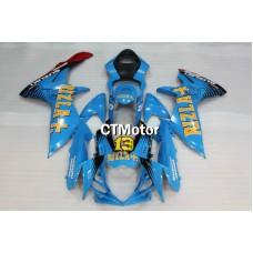 CTMotor 2011-2014 SUZUKI GSXR 600 750 K11 FAIRING DLH