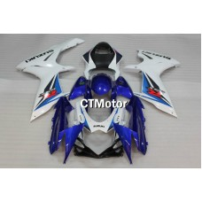 CTMotor 2011-2014 SUZUKI GSXR 600 750 K11 FAIRING DLI with High Quality Decal Stickers