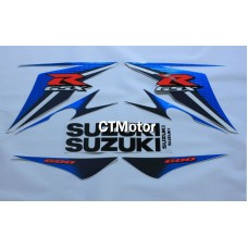CTMotor High Quality Decal Stickers Set For 2011-2014 SUZUKI GSXR 600 750 K11 FAIRING DLI