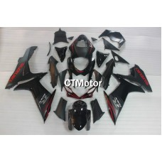 CTMotor 2011-2014 SUZUKI GSXR 600 750 K11 FAIRING DLJ with High Quality Decal Stickers