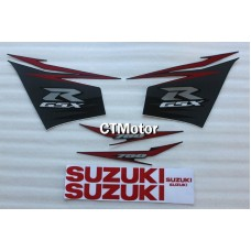 CTMotor High Quality Decal Stickers Set For 2011-2014 SUZUKI GSXR 600 750 K11 FAIRING DLJ