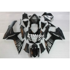 CTMotor 2011-2014 SUZUKI GSXR 600 750 K11 FAIRING DLK with High Quality Decal Stickers