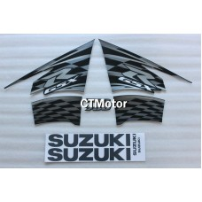 CTMotor High Quality Decal Stickers Set For 2011-2014 SUZUKI GSXR 600 750 K11 FAIRING DLK
