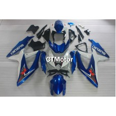 CTMotor 2008 2009 2010 SUZUKI GSXR 600 750 K8 FAIRING EAA  with High Quality Decal Stickers