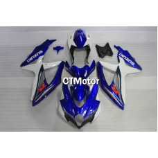 CTMotor 2008 2009 2010 SUZUKI GSXR 600 750 K8 FAIRING EAB  with High Quality Decal Stickers