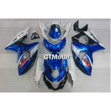 CTMotor 2009 2010 2011 2012 SUZUKI GSXR 1000 K9 FAIRING FAA  with High Quality Decal Stickers