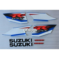 CTMotor High Quality Decal Stickers Set For 2009-2010 SUZUKI GSXR 1000 K9 FAIRING FAA