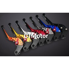 CTMotor Folding Extendable Brake Clutch Levers For Kawasaki NINJA 650R (ER-6f ER-6n) 2006-2008