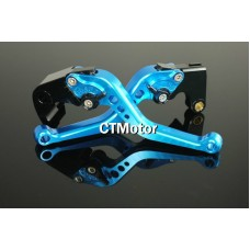 CTMotor 2007-2009 FOR HONDA CBR 600 RR 600RR F5 BLUE LEVER