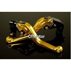 CTMotor 2007-2009 FOR HONDA CBR 600 RR 600RR F5 GOLD LEVER