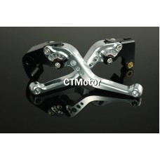 CTMotor 2007-2009 FOR HONDA CBR 600 RR 600RR F5 Silver LEVER