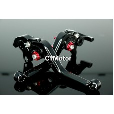 CTMotor 2002-2009 FOR HONDA VFR 800 VTEC BLACK LEVER