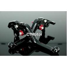 CTMotor FOR HONDA VF750S VFR750 VTR1000F CBR1000 BLACK LEVER