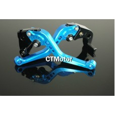 CTMotor 2005-2006 FOR KAWASAKI ZX6R ZX636R ZX6RR BLUE LEVER