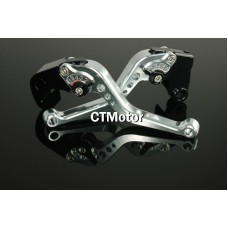 CTMotor 2005-2006 FOR KAWASAKI ZX6R ZX636R ZX6RR Silver LEVER