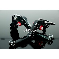 CTMotor 1990-2009 FOR KAWASAKI GPZ500S EX500R BLACK LEVER