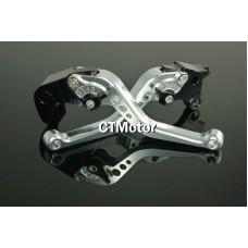 CTMotor 2007-2008 FOR SUZUKI GSXR 1000 GSX-R K7 Silver LEVER