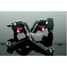 CTMotor 1996-2003 FOR SUZUKI GSXR 600 750 K1 BLACK LEVER