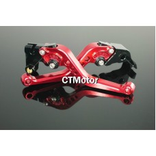 CTMotor 2004-2008 FOR YAMAHA YZF R1 YZFR1 YZF-R RED LEVER