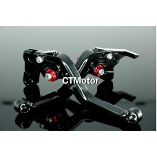 CTMotor FOR YAMAHA FZ1 FZ6 FZ6R FJ6 DIVERSION BLACK LEVER