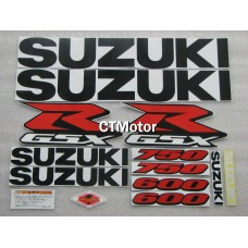 CTMotor High Quality Decal Stickers Set For 2001-2003 SUZUKI GSXR 600 750 K1 FAIRING 011