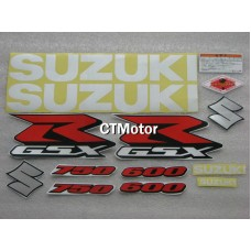 CTMotor High Quality Decal Stickers Set For 2001-2003 SUZUKI GSXR 600 750 K1 FAIRING 012