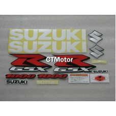 CTMotor High Quality Decal Stickers Set For 2000 2001 2002 SUZUKI GSXR 1000 K1 FAIRING 013