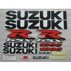 CTMotor High Quality Decal Stickers Set For 2005-2006 SUZUKI GSXR 1000 K5 FAIRING 015