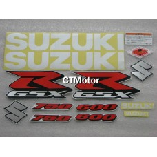 CTMotor High Quality Decal Stickers Set For 2006-2007 SUZUKI GSXR 600 750 K6 FAIRING 016