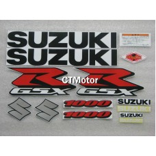 CTMotor High Quality Decal Stickers Set For 2009-2010 SUZUKI GSXR 1000 K9 FAIRING 019