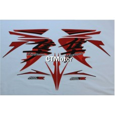 CTMotor High Quality Decal Stickers Set For 2008-2013 SUZUKI GSXR 1300 Hayabusa FAIRING H36