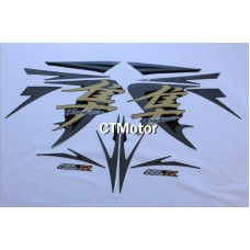 CTMotor High Quality Decal Stickers Set For 2008-2013 SUZUKI GSXR 1300 Hayabusa FAIRING H37